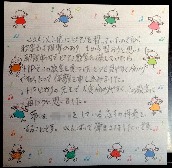 埼玉県朝霞市の永井ピアノ教室
