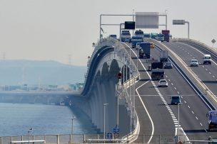 さきたま大橋をイメージした道路画像