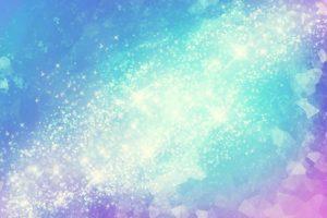 美しく輝く銀河のイラスト